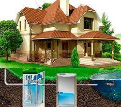 Автономная система канализации для загородного дома