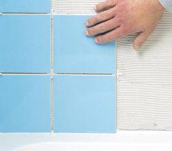Как своими руками сделать укладку плитки в ванной комнате